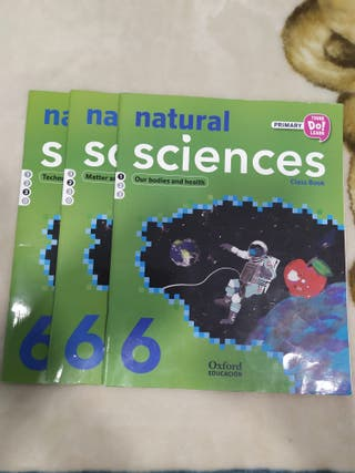 Natural sciences class book 6ºPr. Oxford educación