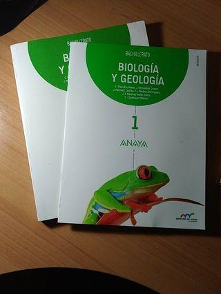 Libro biología 1° bachillerato