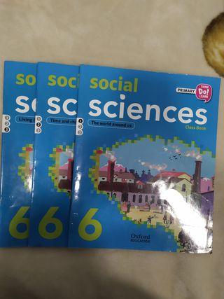 Social sciences class book 6ºPrimaria oxford