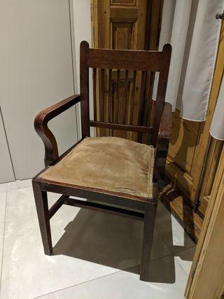 silla sillón antiguo