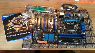 Msi Z77A-G43 Placa Base Gaming