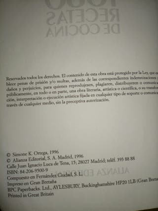 1080 recetas libro