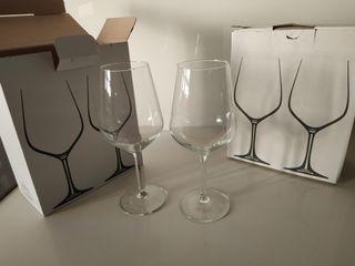 Copas cristal grandes vino