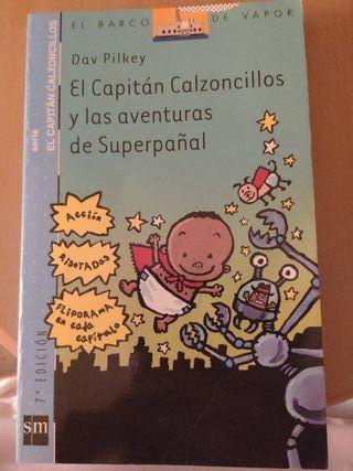 Capitán calzoncillos y las aventuras de Superpañal