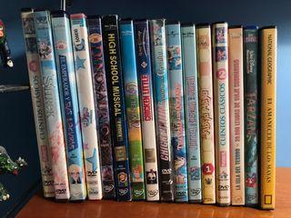Pack 15 películas DVD