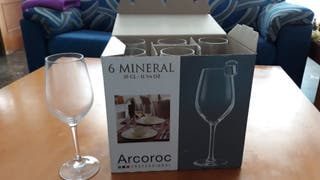 Copas de vino profesionales Arcoroc