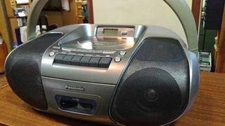 Radio Cassette + CD mp3