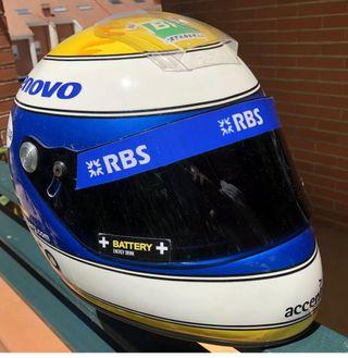 Nico rosberg réplica casco f1
