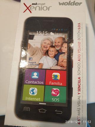 teléfono Wolder xenior para personas mayores
