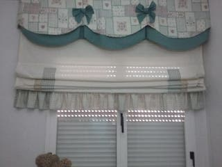 Estor cortina habitación niño. 1,80 alto y 1,65 a