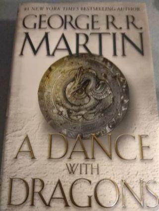 Quinto libro en inglés de Juego de tronos