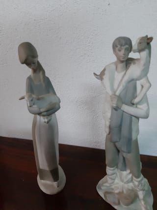 figuras de porcelana nao