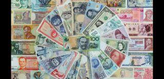 muchos billetes españa usa y resto del mundo