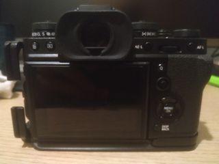 FUJIFILM XT3 con objetivo 16-50 mm