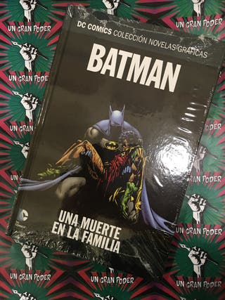 BATMAN. UNA MUERTE EN LA FAMILIA NOVELAS GRAFICAS