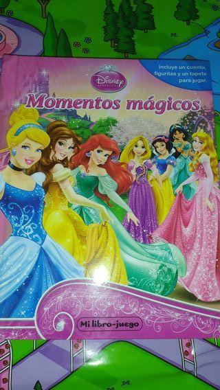 Libro juego princesas Disney