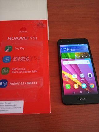 Huawei Y5ii, como nuevo sin golpes ni arañazos