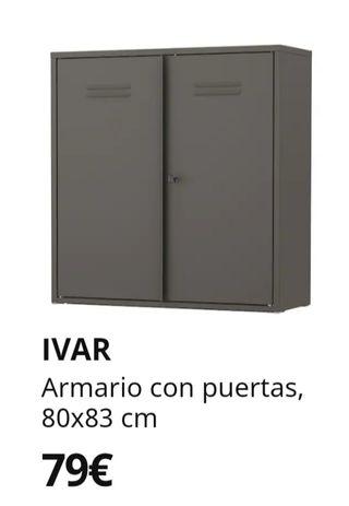 Armario metálico Ikea Ivar