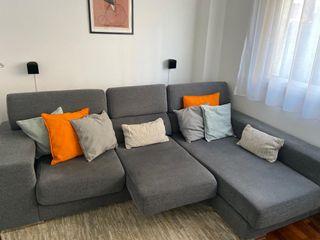 Sofa chaise longue 3 plazas
