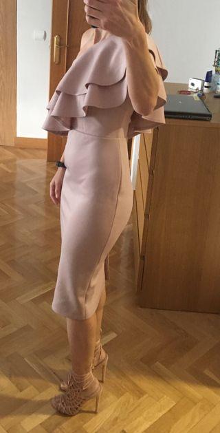 Vestido fiesta asos talla 36