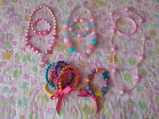 lote collares+ pulseras