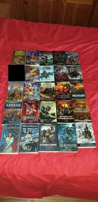 Colección libros Warhammer Fantasy