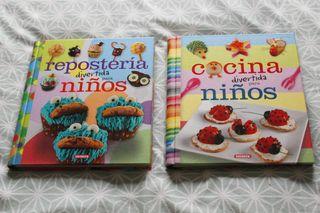 Dos Libros de cocina para niños