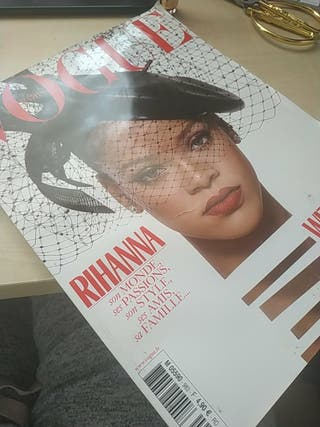 Revista -Vogue francia -Rihanna