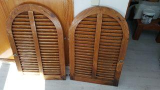 2 persiana Mallorquina de madera