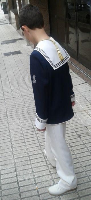 traje niño comunión