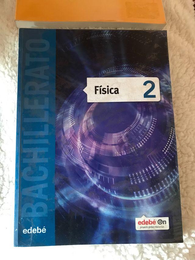 Libro Física 2 Bachillerato edebé
