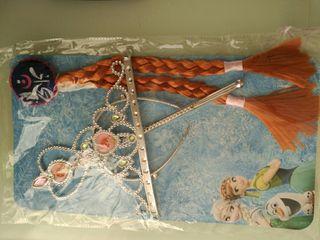 Trenza corona y varita Anna Frozen