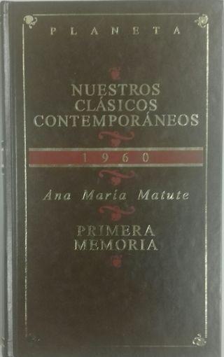 Ana María Matute. Primera memoria.