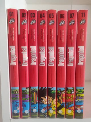 Dragon Ball ultimate edition 8 tomos-nros 1-7 y 11