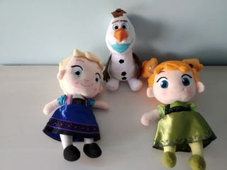 ÚLTIMOS!!! LOTE Frozen Elsa Anna y Olaf