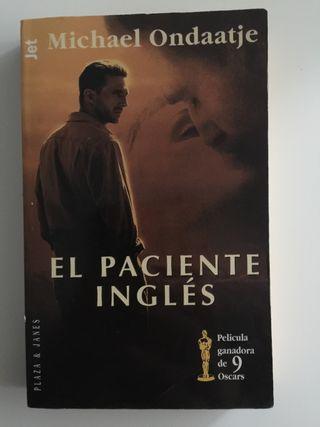 Libro El Paciente Inglés - Michael Ondaatje