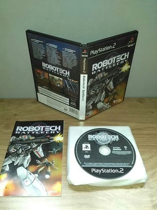 Robotech battlecry PlayStation 2 pal