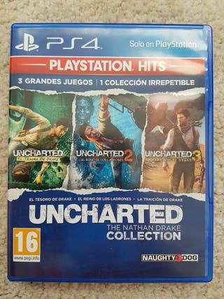 Juego PS4 - Uncharted Collection