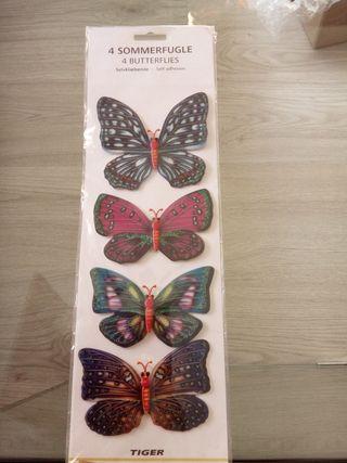 Pegatinas de mariposas