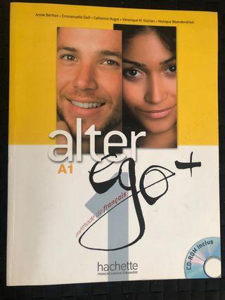 Alter ego + A1 libro de frances
