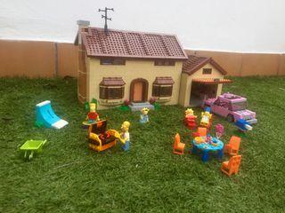 Lego casa los simpsons 100% original