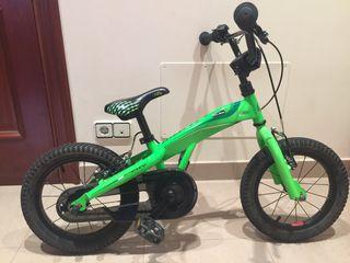 """Bicicleta niño Monty 102 14"""""""
