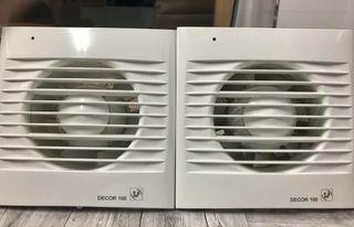 Extractores de aire para baño S & P (2x1)