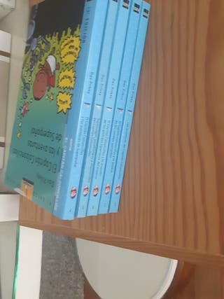 libros del Capitán Calzoncillos