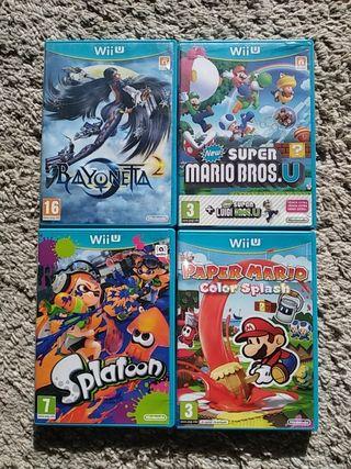 pack de videojuegos para la wiiU