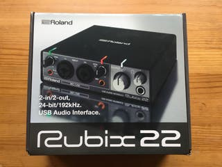 RUBIX 22. INTERFAZ DE AUDIO