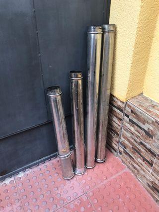 Tubos de acero inoxidables de caldera