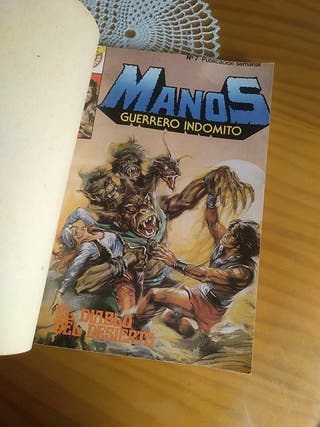 Comics Manos Guerrero Indomito