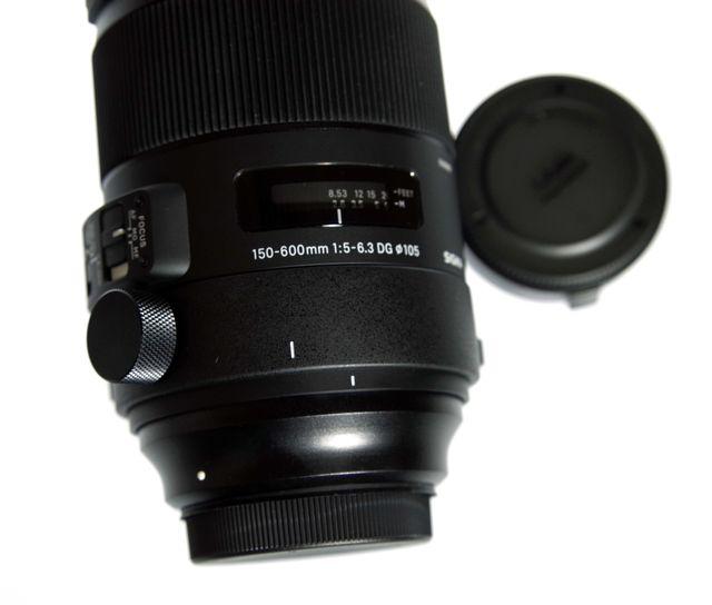 SIGMA 150-600mm F5-6.3 S +TELE CONVER.TC-1401 EOS