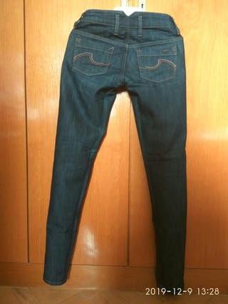 Pantalones Vaqueros MANGO_Mujer_T: 36